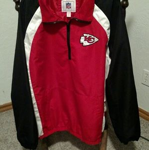XL KC CHIEFS PULLOVER JACKET
